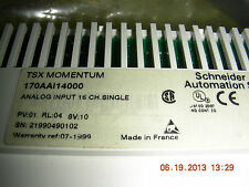 Tsx Momentum Input Module   170aaI14000    16 channel single ended