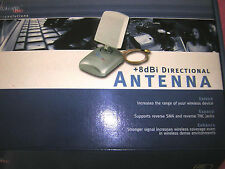 Airlink 8dBi Gain Directional Antenna for WIFI PCI Card or Router 2.4Ghz rT