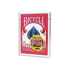 RED Bicycle STRIPPER Deck Playing Cards TAPERED force USPCC Magic Trick gaff