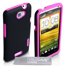 Accessories For The HTC One X Best Hard Silicone Combo Case Cover & Screen Film