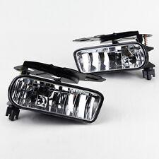 Fog Light For 02-06 Cadillac Escalade Clear Lens PAIR