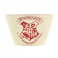 Harry Potter Hogwarts Stoneware Cereal or Soup Bowl - Cream and Red design