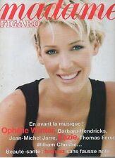 madame FIGARO 21:06/1997 ophelie winter zazie jarre