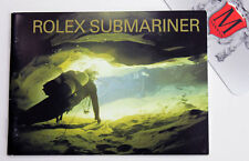 ROLEX Submariner Booklet- Vintage- 11/2003- (English)- U.S. Seller- Montre Swiss