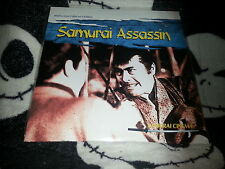 Samurai Assassin Widescreen Laserdisc LD AnimEgo Samurai Cinema Free Ship $30