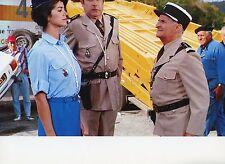 LOUIS DE FUNES LE GENDARME ET LES GENDARMETTES 1982 VINTAGE LOBBY CARD #15