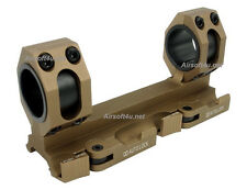 SNIPER Chooes New (Tan) L Style Tactical QD Mount Fits 25mm/30mm bodies Scope