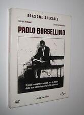 Tavarelli PAOLO BORSELLINO - 2 DVD