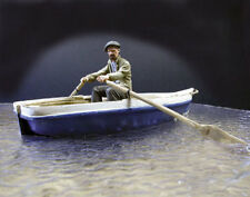 1/35 scale resin kit Civilian rower (figure only NO boat)