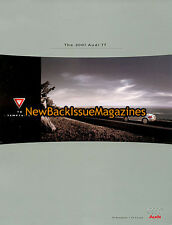 2001 Audi TT Dealer Brochure 9/11,2001 Audi TT,September 2011,NEW