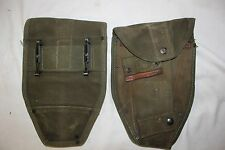 US Military Issue Vietnam Era Canvas Shovel Cover E Tool Cover used good conditn