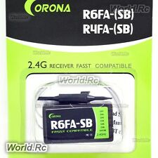 Corona RC Model R6FA-SB 2.4Ghz FASST Compatible S.BUS Receiver For R/C Hobby