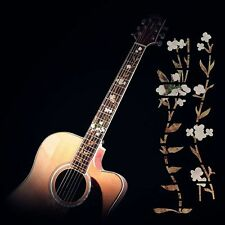 Flowers Electric Acoustic Guitar Bass Inlay Sticker Fretboard Marker Decal Decor