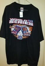 '06 World Series Tickets Match-up T-Shirt Cardinals vs Tigers 2X-Large NEW w/TAG