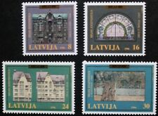 800th anniversary of Riga, (2nd series) stamps, Latvia, 1996, SG ref: 456-459