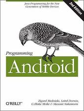 Programming Android: Java Programming for the New Generation of Mobile-ExLibrary