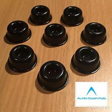 Atacama Hi Fi, Speaker Isolation Gel Pads. Set Of 8. Self Adhesive. Black.