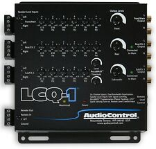 AudioControl LCQ-1 (BLACK) 6-Channel Line Output Converter With Equalizer