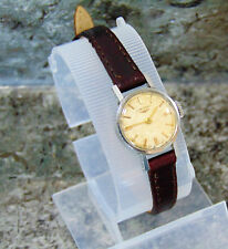RARE LONGINES WOMENS/ LADIES 17 JEWEL MECHANICAL HAND WIND WATCH BRAND NEW STRAP