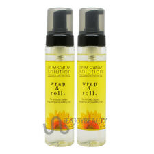 "Jane Carter Wrap and Roll 8oz ""Pack of 2"" with Free Roll-on Body Oil"
