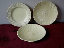 3 MIKASA COUNTRY MANOR SAFFRON SALAD PLATE FLOWER SHELL ACCENT YELLOW(6 AVAIL)