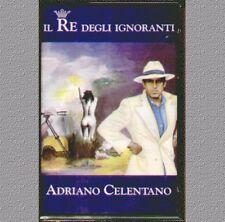 """ADRIANO CELENTANO """" IL RE DEGLI IGNORANTI """" MUSICASSETTA SIGILLATA  (MC K7)"""