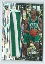 2015-16 Totally Certified Jordan Mickey Fabric of the Game CAMO PATCH RC 6/25