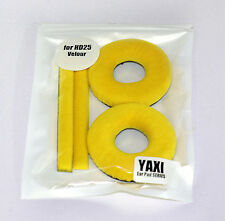 High quality Yellow Velour pads for sennheiser HD25-1 by YAXI HD25 mk II