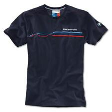 NEU !!! Original BMW Motorsport Fashion T-Shirt Shirt Herren L