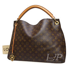 Louis Vuitton Artsy MM Monogram M40249 Hobo Shoulder Bag Authentic Leather LV