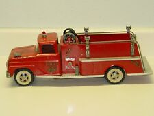 Vintage Tonka Fire Pumper Truck, Pressed Steel Toy Vehicle
