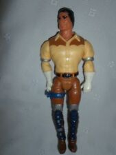 1986 Filmation Marshall Bravestarr Figurine Toy Action Figure Vintage 8""