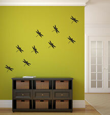 Dragonfly Vinyl Wall Decal Graphics Bedroom Home Decor