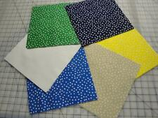 "Layer Cake - ""Lots of Dots""-36-10"" Squares-6 Colors-Choice Fabrics-Special Price"