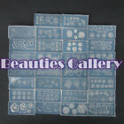 Fashion New Wholesale 30PC Acrylic Mold For 3D Nail Art Decoration DIY SET
