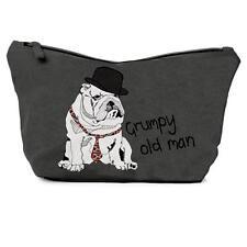 Casey Rogers large men's gris laver sac-vieux grincheux homme chien design voyage 28536