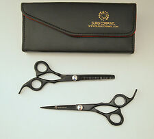 "6.5"" Professional Barber Hairdressing Thinning & HairCutting Scissor Black"
