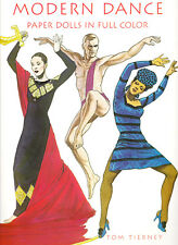 Modern Dance  Paper Dolls by Tom Tierney  NEW! FREE SHIPPING!