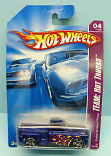 2390 HOT WHEELS / CARTE US / TEAM HOT TRUCKS 2007 /CUSTOM CHEVY PICK UP 69 1/64