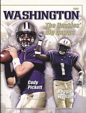 2003 WASHINGTON HUSKIES NCAA FOOTBALL MEDIA GUIDE