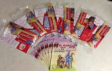 6 NEW Kids Colgate Toothbrushes and Sample Toothpastes, Booklet + Coupons