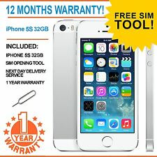Apple iPhone 5s 32GB  Factory Unlocked - White - Faulty Touch ID