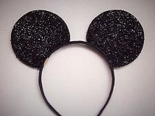 Minnie--Mickey Mouse Ears Headband Sparkle Shimmer Party Theme Halloween Disney