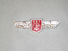 East Germany DDR GST Multiple Job Qualification Badge - Perfect Condition