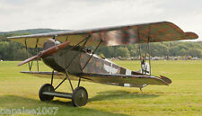 "Model Airplane Plans (RC): FOKKER D-VII 34"" Scale Biplane for .049 - .09 Engines"