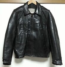 Aero Leather Jacket Size 38 Front Quarter Horsehide Police issue