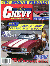 All Chevy The Complete Chevrolet Magazine August 1988 EX 010816jhe