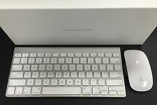 Apple Bluetooth Wireless Keyboard & Magic Mouse Combo MC184LL/B  MB829LL/A