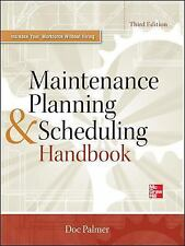 MAINTENANCE PLANNING AND SCHEDULING HANDBOOK - NEW HARDCOVER BOOK