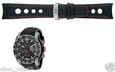 Genuine Tissot 23mm PRS516 EXTREME AUTOMATIC Leather Band.strap.bracelet+buckle